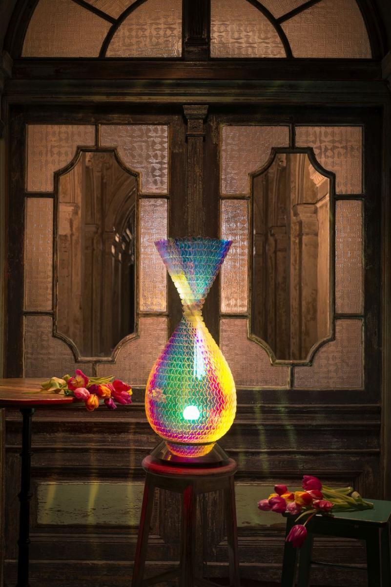 Laokoon Design falburkolat és lámpa