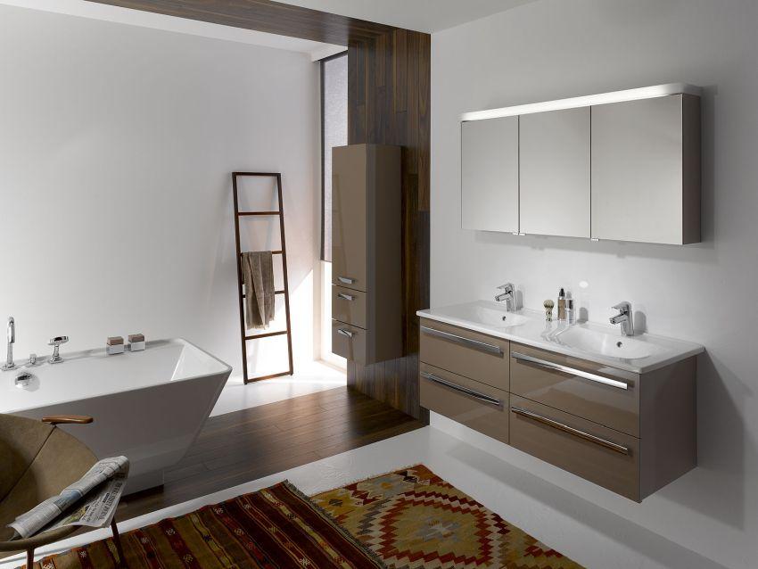Letisztult fürdőszoba design