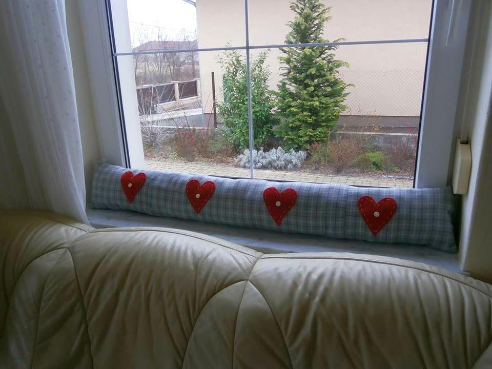 Huzatfogó ablakpárna varrása lépésről-lépésre csináld magad