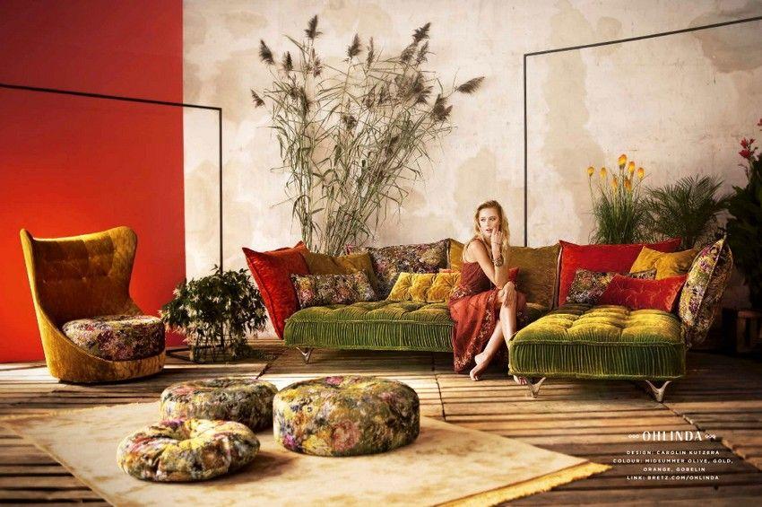 Bretz Ohlina kanapé és fotel