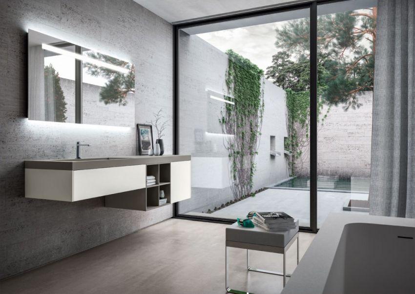 Ideagroup Sense fürdőszoba bútor praktikus tárolóelemek