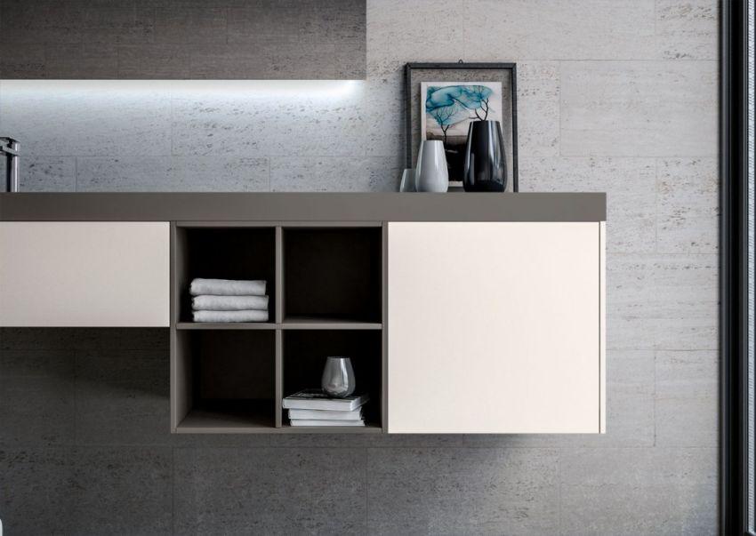 Ideagroup Sense fürdőszoba bútor nyitott polcos tárolóelem