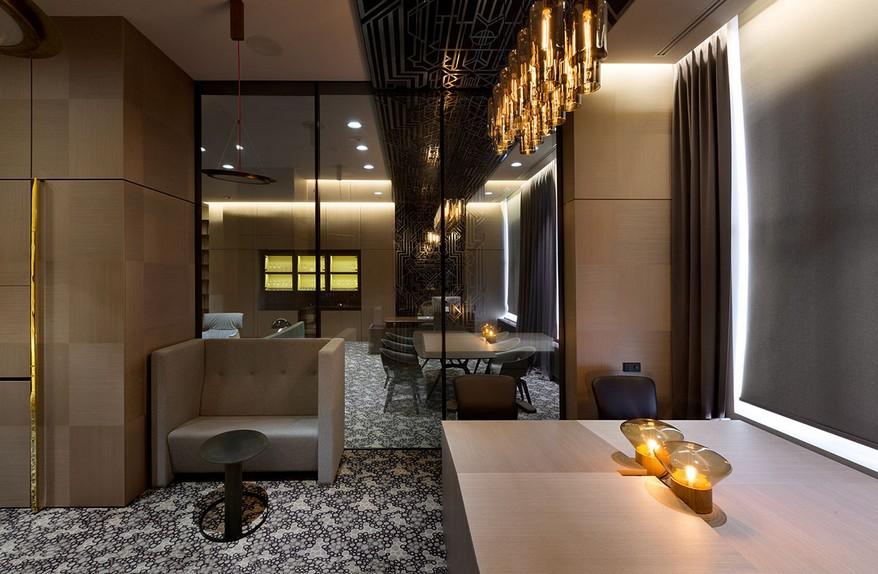 A YOD Design tervezésében luxus iroda design lámpák