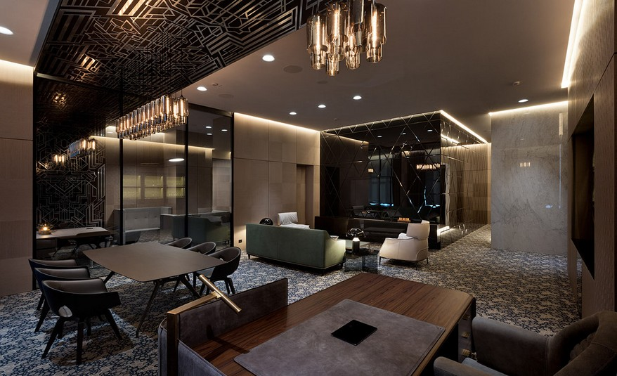 A YOD Design tervezésében luxus iroda