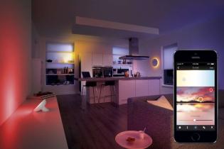 Philips Hue intelligens világítás applikációról vezérelve