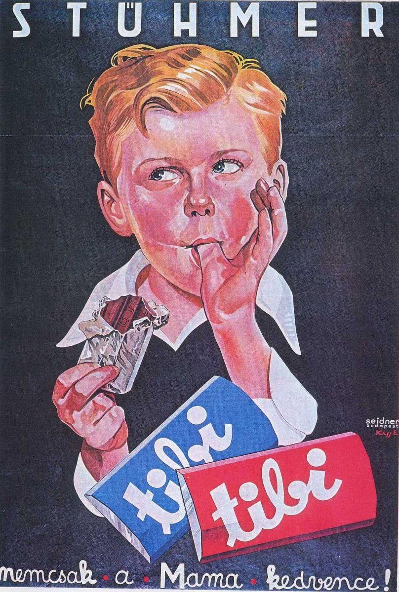 Régi Stühmer, Tibi csoki plakát