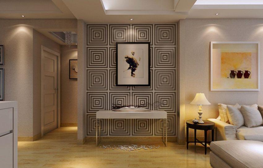 Egyedi tervezésű tapéta mint faldekoráció