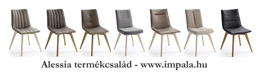 7 féle Alessia szék