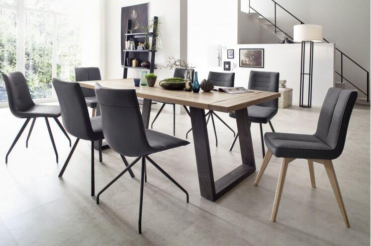 Alessia textilbőr székek