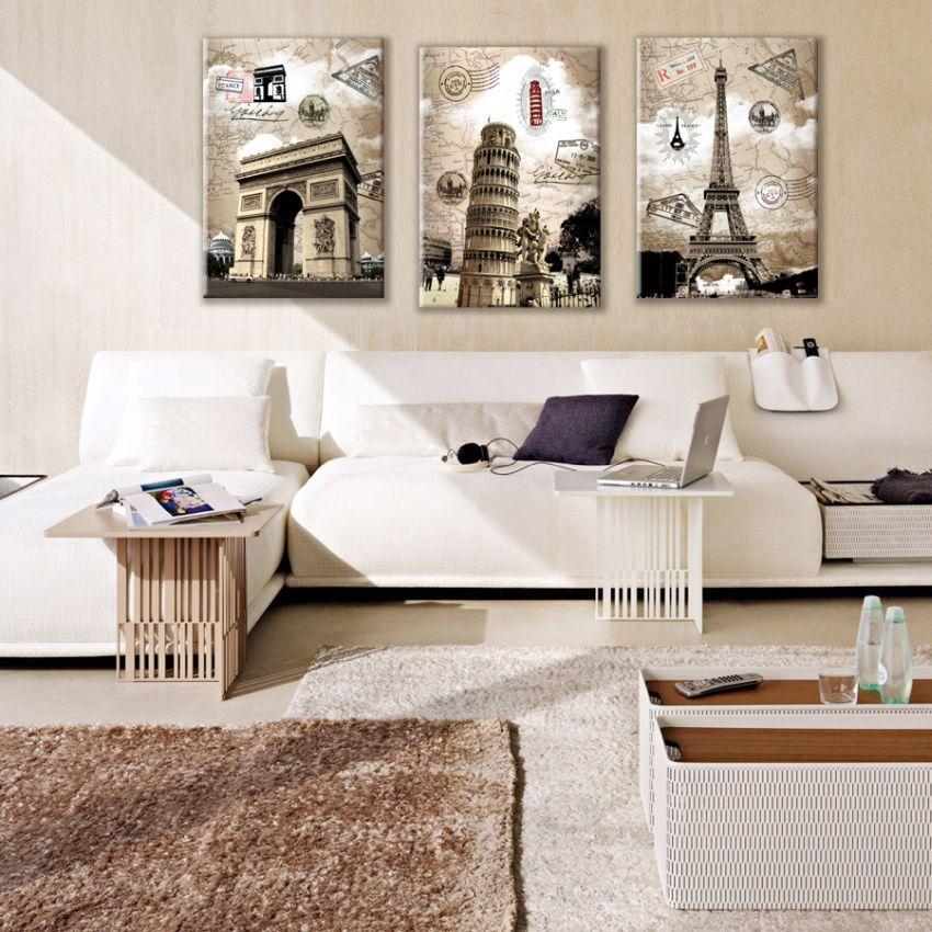 Építészeti nevezetességek faldekoráció képek