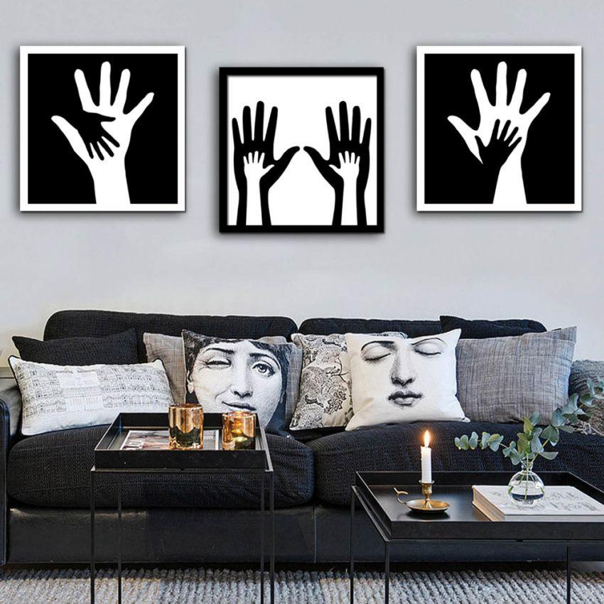 3 képes dekoráció kezek