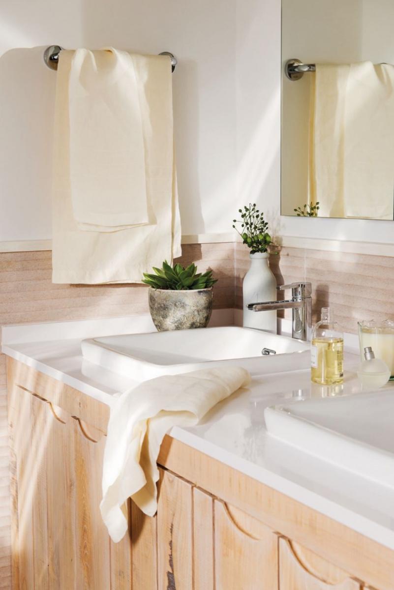 Visszafogott fürdőszoba design