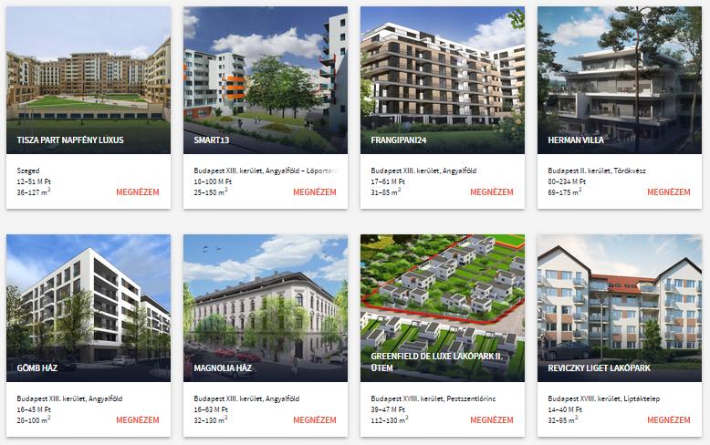 Lakóparkok Budapesten