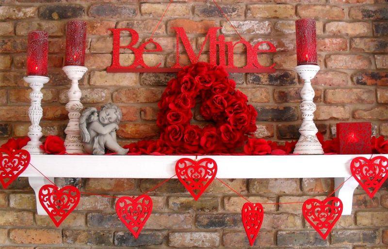 Légy az enyém Valentin napi dekoráció