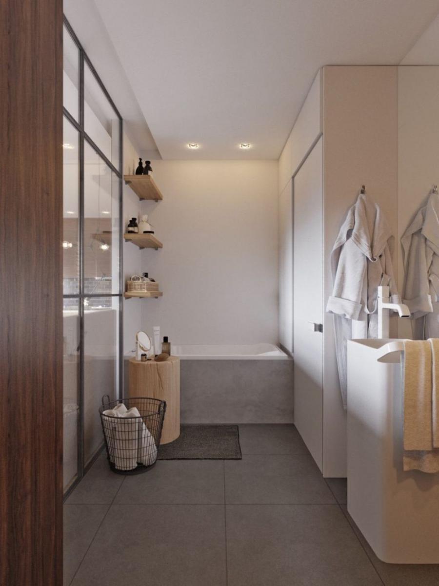 Helytakarékos polc és fürdőszoba szekrény