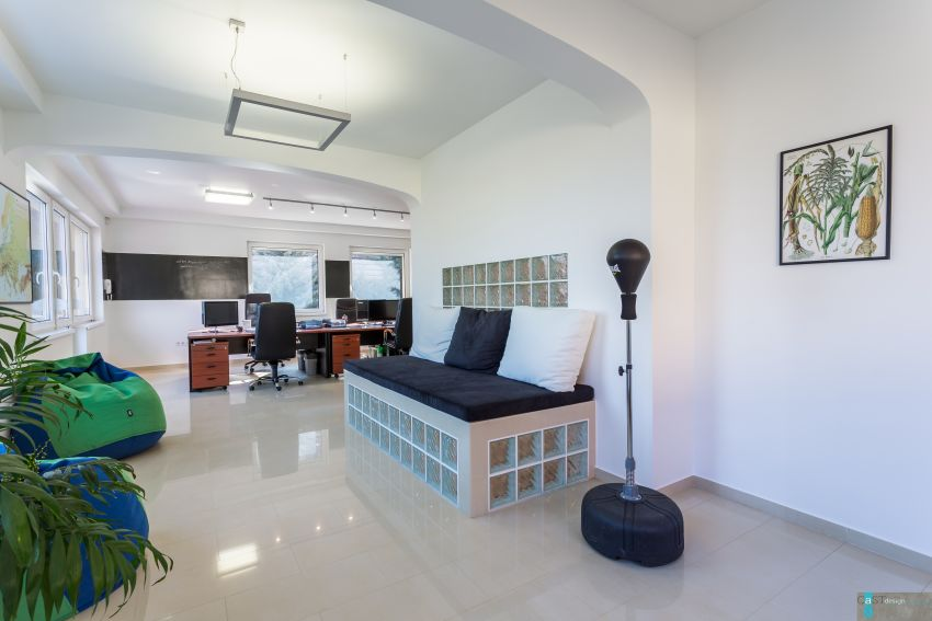 Családi házba tervezett irodát a Castdesign lounge