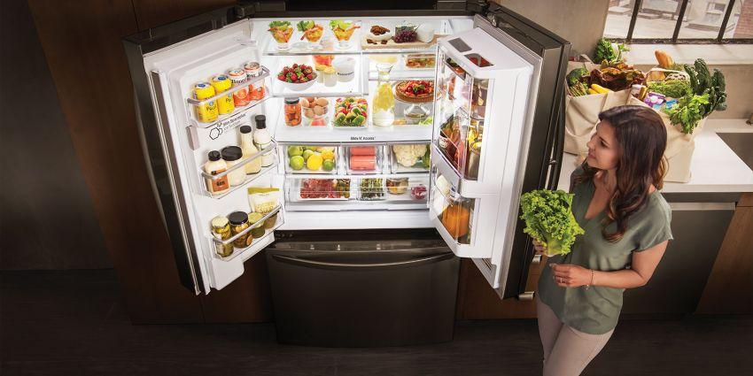 LG Smart InstaView Door-in-Door™ okos hűtőszekrény