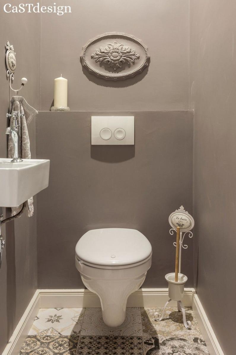 Frissen felújított romantikus konyha és fürdőszoba az újlipótvárosi polgári miliőben