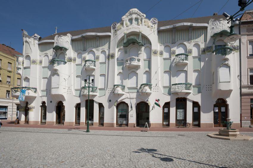 Szecessziós stílusú épület