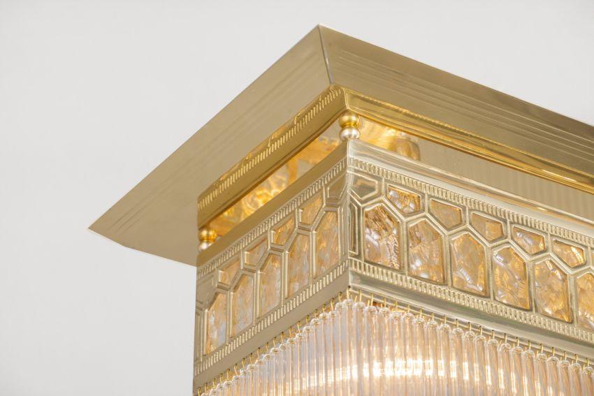 Szecessziós lámpák a Patinás Lámpa gyártásában