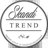Skandi trend dekoráció