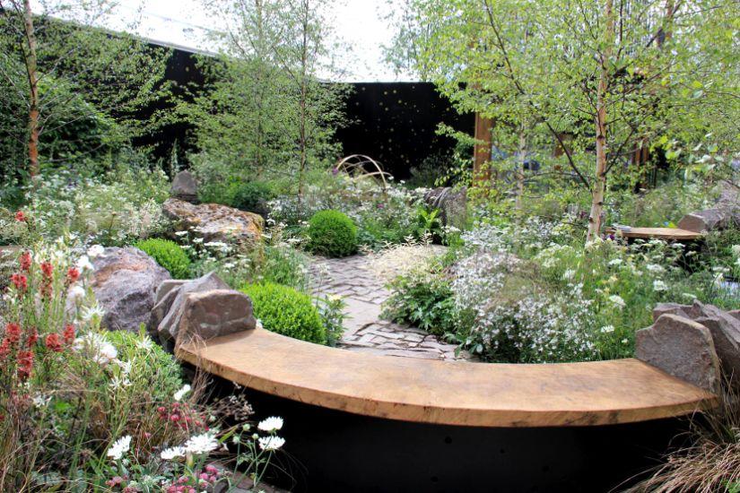 Minimális gondozást igénylő kert