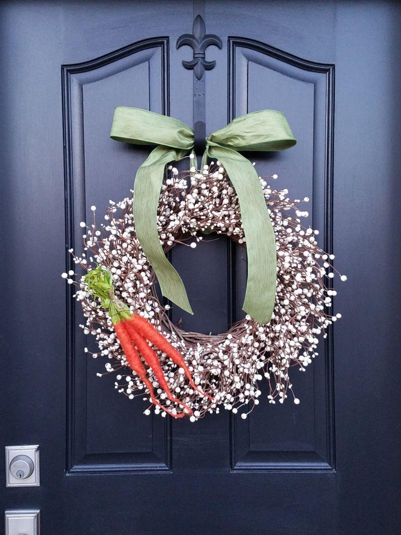 Tavaszi ajtódekoráció ötletek