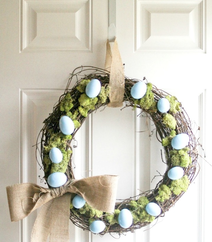 Húsvéti koszorú ajtóra