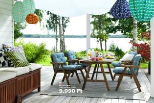 2017-es IKEA kültéri bútorok kertbe, teraszra, erkélyre