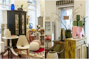Antik és vintage bútorraktár újratöltve márciusban a Projekt Showroomban