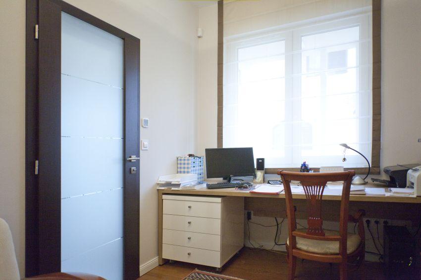 Üvegezett dolgozószobai ajtó