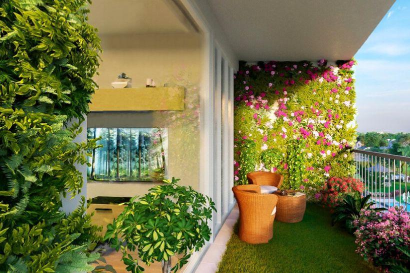 Falon futó növények a balkonon