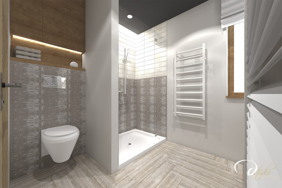 Igényes fürdőszoba berendezés