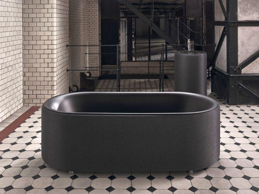 BetteLux Oval Couture fekete fürdőkád