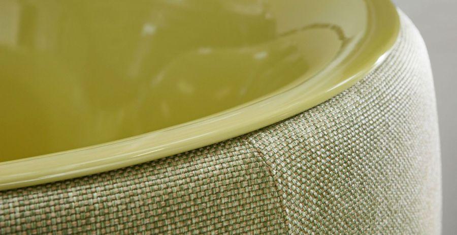 BetteLux Oval Couture kárpitozott fürdőkád