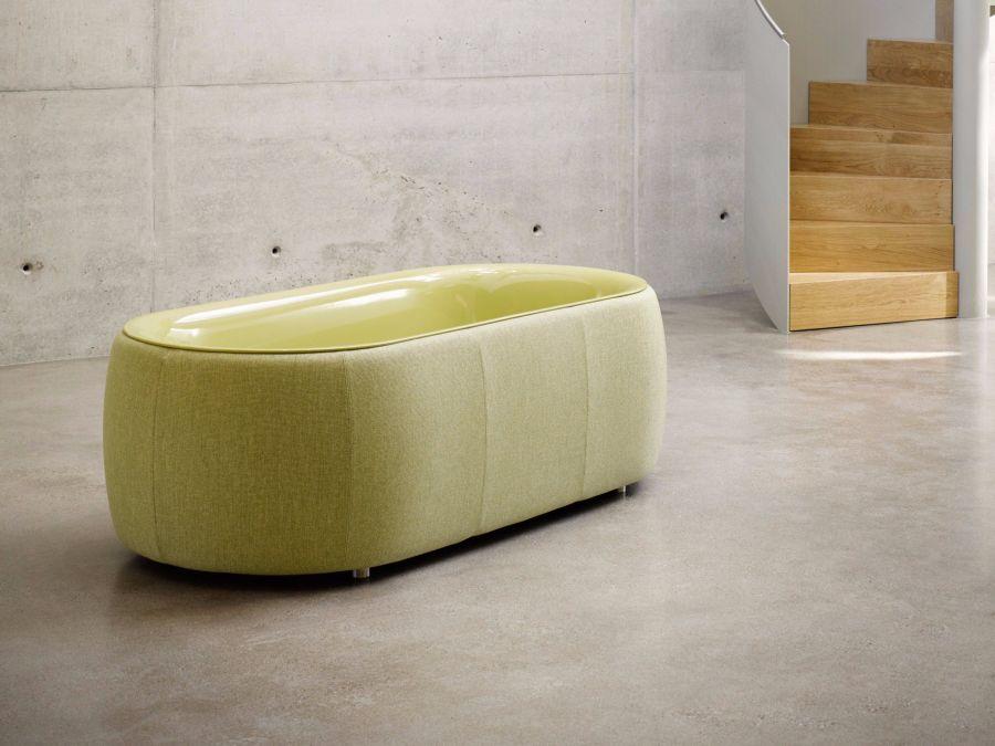 BetteLux Oval Couture halványzöld fürdőkád