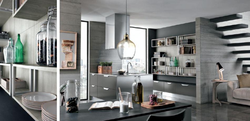 Modern olasz konyhabútor Colombini