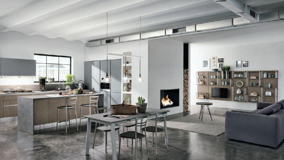 Letisztult modern design konyhák