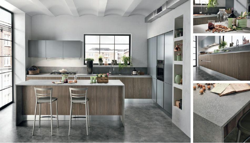 Étkezős konyha olasz design