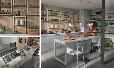 Igényeink szerint alakítható városi stílusú Colombini Essenza konyhák
