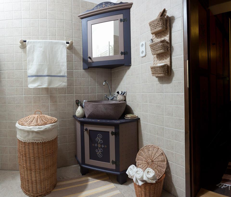 Sikaszói székely ház fürdőszobája