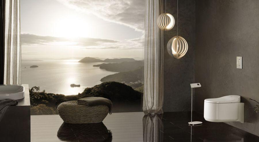 Sensia Arena zuhany-wc a GROHE első luxuskategóriás, smart megoldásokat tartalmazó okos wc-je