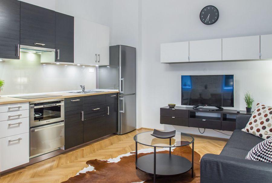 Bata Tamás fotó nappali és konyha