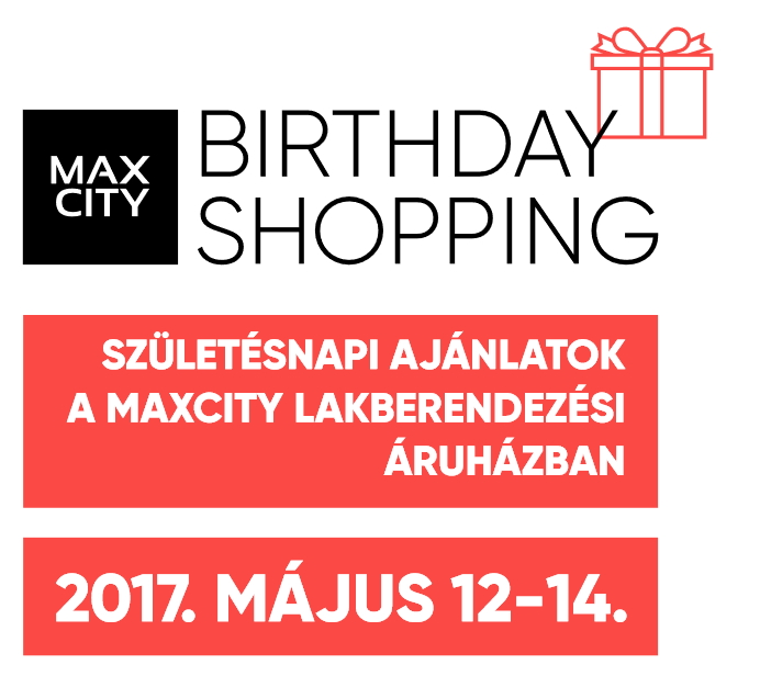 Maxcity birthday shopping 2017