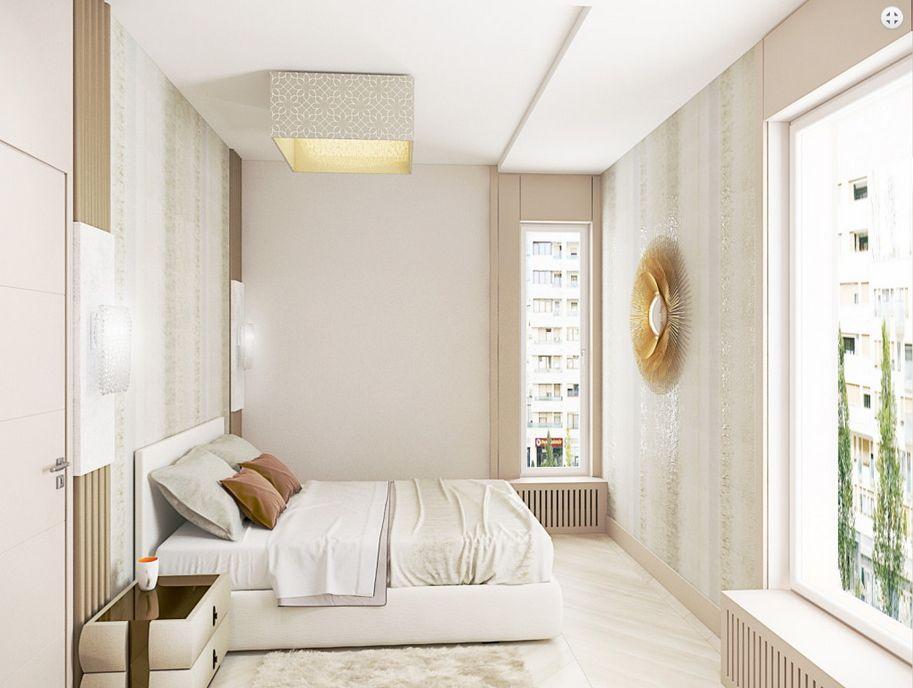 Modern elegáns hálószoba Dóró Judit belsőépítész, lakberendező
