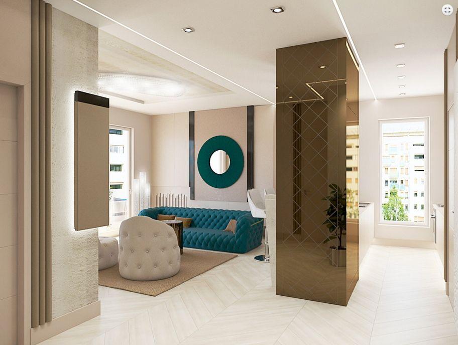 Luxus lakberendezés egy lakóparkban Dóró Judit belsőépítész, lakberendező