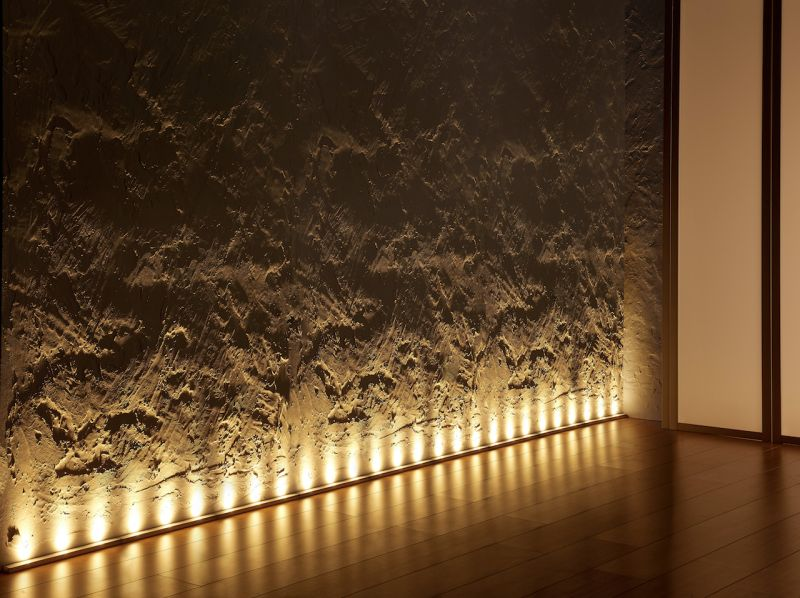 Sylvania led világítás padló szélére