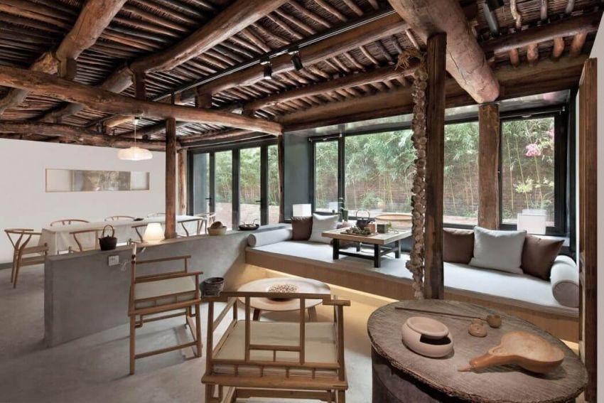 Kínai parasztház felújítva