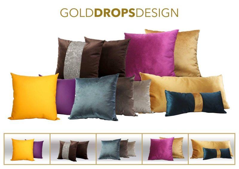 Gold Drops design díszpárnák