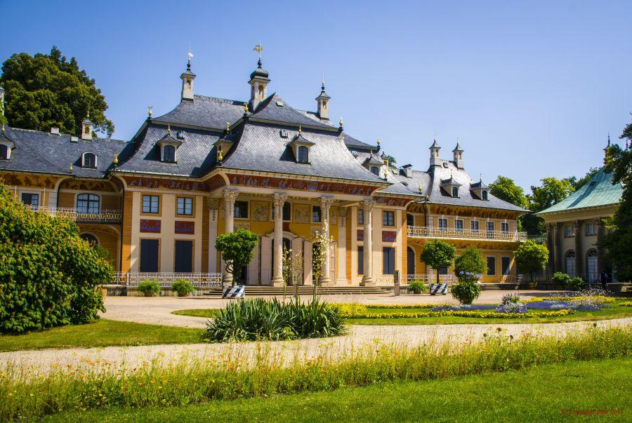 Schloss Pillnitz, Drezda